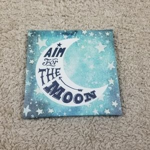 """Other - Beautiful """"Aim for The Moon"""" Wall Canvas Decor"""